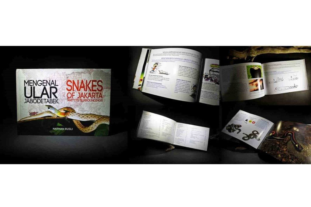 The snakes of Jakarta and its surroundings, published in 2016